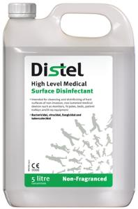 Disinfectants, High Level Medical Surface Disinfectant, Distel