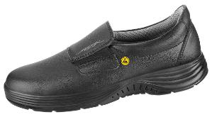 ESD-safety shoes, x-light, loafer black ESD