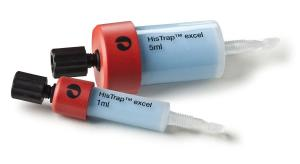 Affinity chromatography columns, HisTrap™ excel
