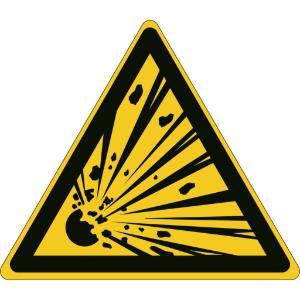 Labels, explosive material