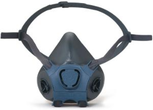 Half masks against gas, vapour and dust, 7000 series