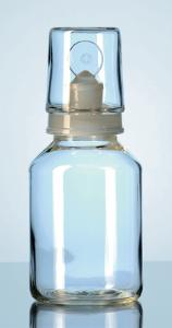 Acid Bottles, with stopper and interchangeable cap, DURAN®